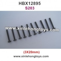 HBX 12895 Parts Screw 3X20mm S203