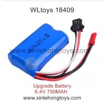 WLtoys 18409 Parts Upgrade Battery 6.4V 750mAh