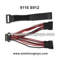 XinleHong Toys 9116 S912 Parts New Version Double Battery Plug Conversion Wire