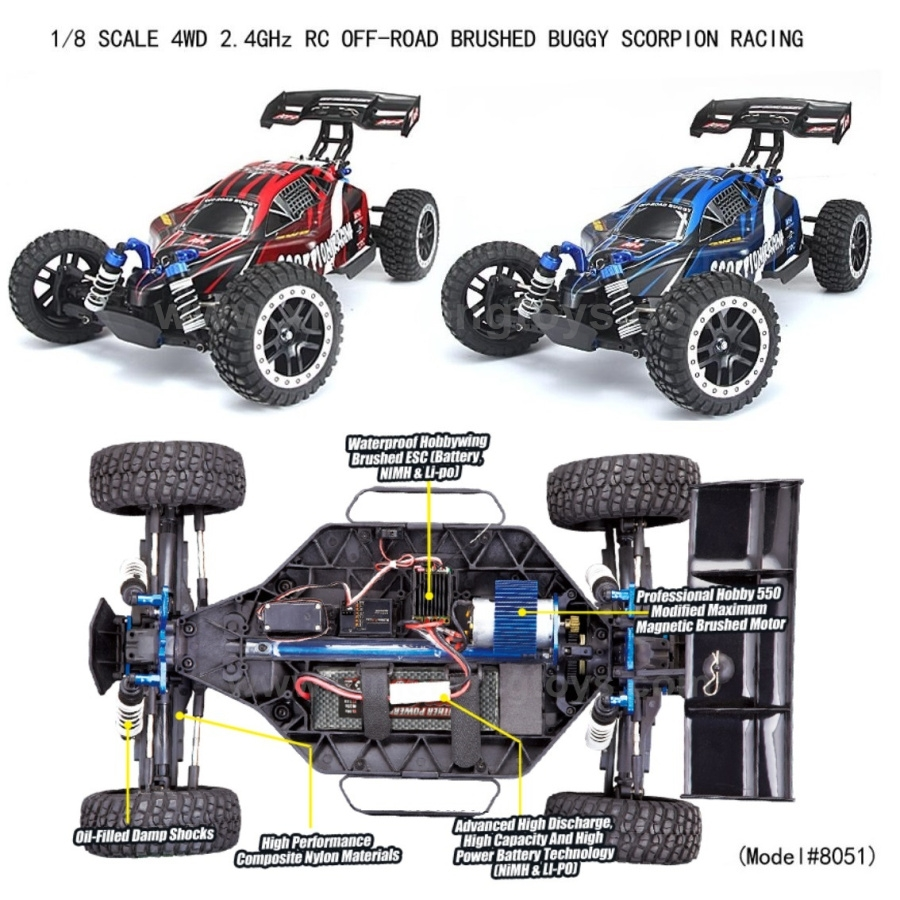REMO HOBBY 8051